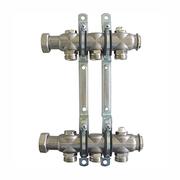 """Гребенка (коллектор) Oventrop для отопительных приборов Multidis SH 1"""", нерж. сталь, на 3 контура 3/4"""", артикул 1407053"""