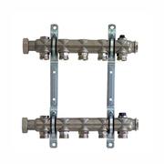 """Гребенка (коллектор) Oventrop для отопительных приборов Multidis SH 1"""", нерж. сталь, на 5 контуров 3/4"""", артикул 1407055"""