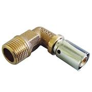 "Прессовый угольник-переход Oventrop 16х2,0 мм х R 1/2"" НР, Арт. 1512343"