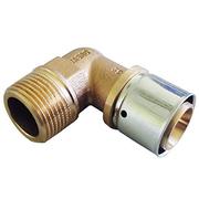 "Прессовый угольник-переход Oventrop 32х3,0 мм х R 1"" НР, Арт. 1512348"