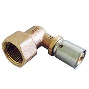 "Прессовый угольник-переход Oventrop 20х2,5 мм х R 3/4"" ВР, Арт. 1512446"