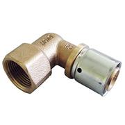 "Прессовый угольник-переход Oventrop 26х3,0 мм х R 3/4"" ВР, Арт. 1512447"