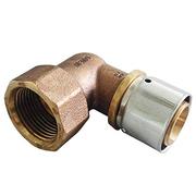 "Прессовый угольник-переход Oventrop 32х3,0 мм х R1"" ВР, Арт. 1512449"