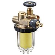"""Фильтры жидкого топлива Oventrop Oilpur Siku (пластиковый) Ду 10, внутренняя резьба G 3/8, для двухтрубных систем (с перемычкой """"насос-фильтр""""), арт. 2122261"""