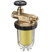 Фильтры жидкого топлива Oventrop Oilpur Siku (пластиковый) Ду 10, G 3/8 (ВР х НР), для однотрубных систем, арт. 2123561