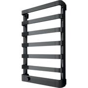Полотенцесушитель IRSAP Step E 107/1255/500 11 элементов электрический, хромированный, отделка черного, SEL050T 2E 01