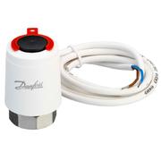 Термоэлектрический привод Danfoss , при отсутствии напряжения открыт, резьбовое соединение, 088H3143