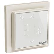 Терморегулятор DEVI DEVIreg™ Smart интеллектуальный с Wi-Fi, белый, 16А 140F1141