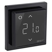 Терморегулятор DEVI DEVIreg™ Smart интеллектуальный с Wi-Fi, черный, 16А 140F1143