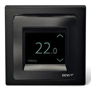 Терморегулятор DEVI Devireg Touch с комбинацией датчиков, черный 140F1069