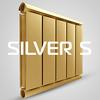Алюминиевые дизайн-радиаторы Silver S