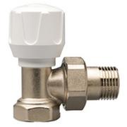 STOUT Клапан ручной терморегулирующий, угловой 1/2, SVR-0002-000015