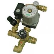 Комплект Stout для насосной группы с термостатическим клапаном; Grundfos UPSO 25-65 130, SDG-0020-001002