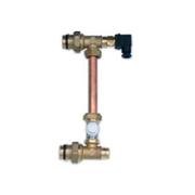 Группа бай-пасс IVR с регулирующим клапаном и термостатом безопасности, арт. 171410501