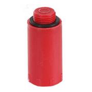 """Водопроводная пробка-заглушка HL красного цвета (латунь), 1/2"""" Н, HL42R.MS"""