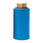 """Водопроводная пробка-заглушка HL синего цвета (латунь), 1/2"""" Н, HL42B.MS"""