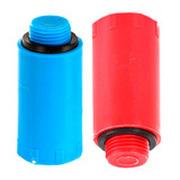 """Водопроводная пробка-заглушка HL синего цвета, 3/4"""" Н, HL42.R"""