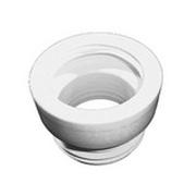 Манжет HL для унитаза, предназначен для пластмассовых и чугунных труб, HL201