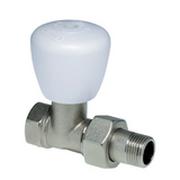 """Регулировочный вентиль отопительного прибора прямой G1/2"""", с колпачком Hummel 2913120001"""