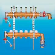 Коллектор для напольного отопления G 1 по EN 1264-4 (вертикальное подключение) 2205016100