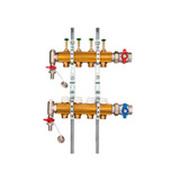 Коллектор для напольного отопления G 1 по EN 1264-4 (горизонтальное подключение) 2205000600