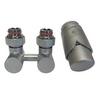 Гарнитура для нижнего подключения радиаторов SCHLOSSER