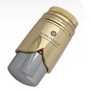 Головка термостатическая SCHLOSSER BRILLANT Золото-Хром M30x1,5 SH, арт. 600200009
