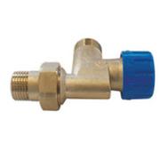 Клапан SCHLOSSER термостатический угловой специальный DN15 GZ 1/2 x M22 x 1,5GZ, арт. 601200008