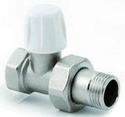 Прямой нижний вентиль ICMA ручной регулировки 3/4, с кольцевой прокладкой o-ring 815/82815AE06