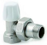 Угловой нижний вентиль ICMA ручной регулировки 3/4, с кольцевой прокладкой o-ring 805/82805AE06