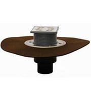 Трапы HL для балконов и террас с решеткой в подрамнике с гидроизоляционным полимербитумным полотном HL310NH.2-3000