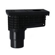 Трап HL для гаража, двора для отвода в ливневую канализацию воды от наружных ливнестоков, с ловушкой для листвы HL660G