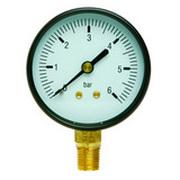 Манометр ICMA 63 Радиальное подключение 1/4 атм. 0-10, 244/91244АВ10