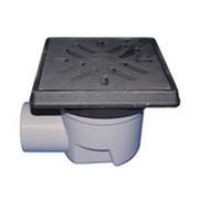 Трап HL для гаража, двора с чугунным подрамником с незамерзающим запахозапирающим устройством, грязеуловителем HL605.1