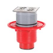 """Трап HL для внутренних помещений с решеткой в подрамнике, высотой гидрозатвора 50мм, с элементом """"Klik-Klak"""" HL310N-3000 SML"""
