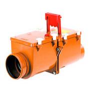 HL 2-х камерный механический канализационный затвор с запирающими заслонками из профилированной нержавеющей стали, HL715.2