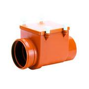 Механический канализационный затвор HL для колодцев из профилированной нержавеющей стали с монтажным люком, HL710