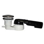 Сифон HL для душевого поддона со сливным отверстием Ø 60мм, с поворотным шарниром 280° по горизонтали и 10° по вертикали, со штуцером для присоединения дренажной трубки от 8 до 13мм HL514/SNV