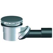 Сифон HL для душевого поддона со сливным отверстием диаметром 90мм, с вынимаемым сифонным вкладышем, с крышкой из нержавеющей стали HL522