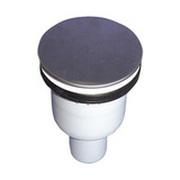 Сифон HL для душевого поддона со сливным отверстием, с вынимаемым сифонным вкладышем, декоративной крышкой из нержавеющей стали HL511N