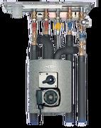 Meibes исполнение с трехходовым смесителем и электрическим серводвигателем c насосом Grundfos UPS 15-50 MBP. Артикул (ME 27400)