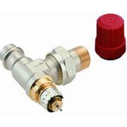 Клапан для гравитационных систем Danfoss, серия RA-N Press, Ду 15, угловой, никелированный, для прессового соединения, 013G3237