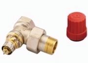 """Клапан терморегулирующий радиаторный, Danfoss RA-N 013G0015, Ду20, 3/4"""", угловой никелированный (для двухтрубной системы)"""