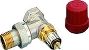 """Клапан терморегулирующий радиаторный, Danfoss RA-N 013G3903 (013G7013), Ду15, 1/2"""", угловой никелированный (для двухтрубной системы)"""