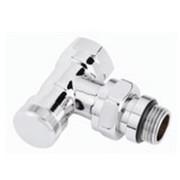Клапан запорный RLV CX Ду 15 угловой хромированный, Danfoss 003L0273