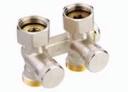Клапан Danfoss RLV-K прямой 3/4x3/4, артикул 003L0281, для нижнего подключения радиаторов