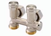 Клапан Danfoss RLV-K угловой 3/4x3/4, артикул 003L0283, для нижнего подключения радиаторов
