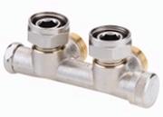 Клапан Danfoss RLV-KD угловой 3/4x3/4, артикул 003L0243, для нижнего подключения радиаторов