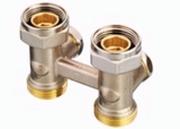 Клапан Danfoss RLV-KB прямой 3/4x3/4, артикул 003L0395, для нижнего подключения радиаторов