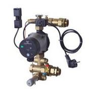 Компактный узел смешения Danfoss FHM-C7 с энергоэффективным насосом Alpha 2 15-60, с термостатом безопасности, ограничителем расхода, измерительной диафрагмой, арт. 088U0097